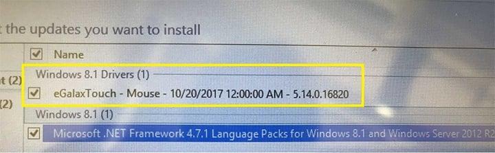 windows settings on screen