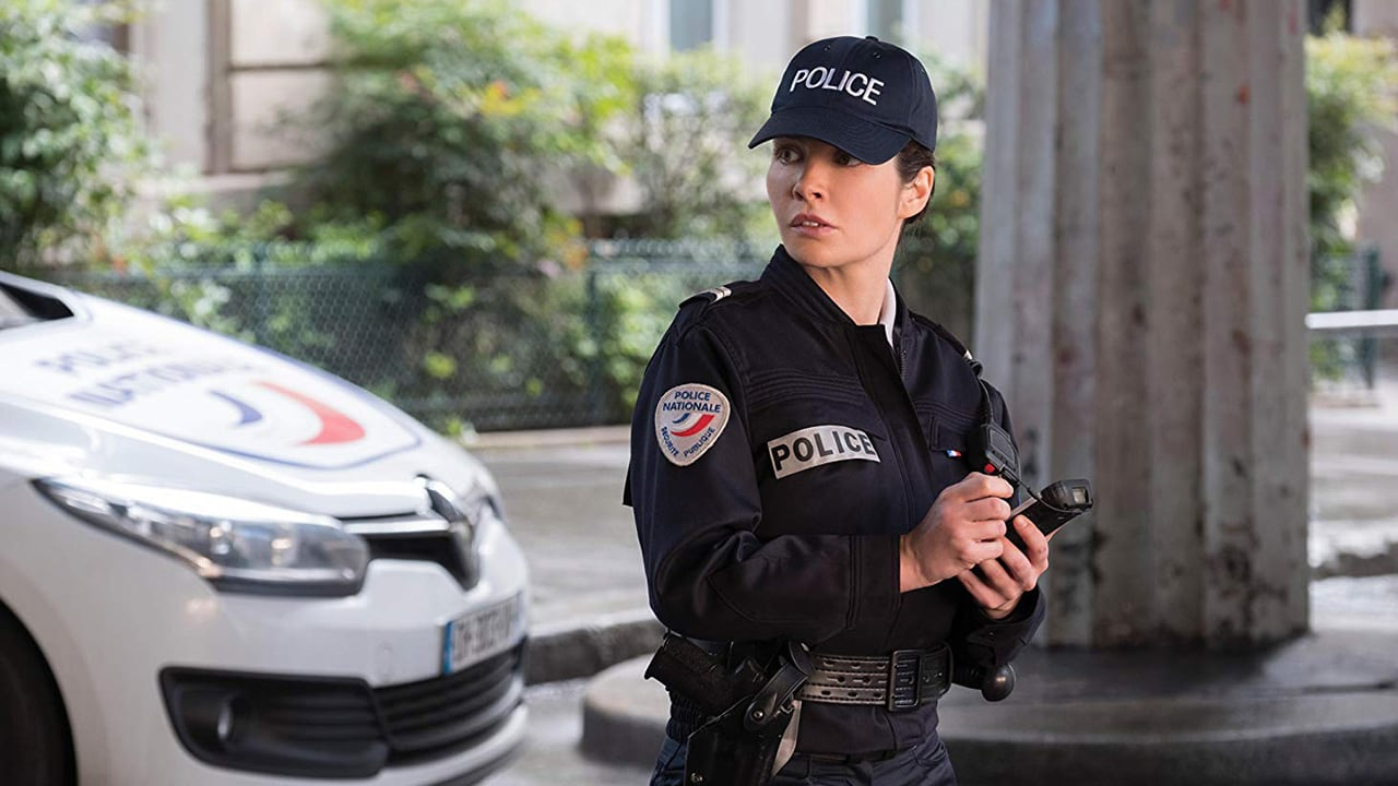The Handheld Nautiz X4 used by a police woman in Mission Impossible Fallout