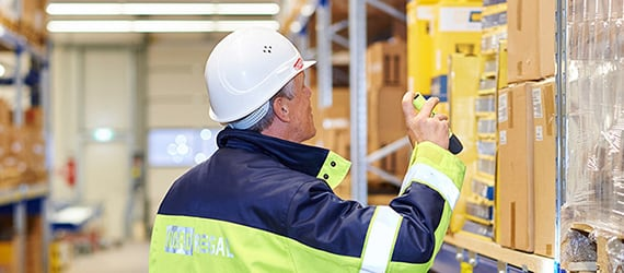 Safety inspections in warehouse