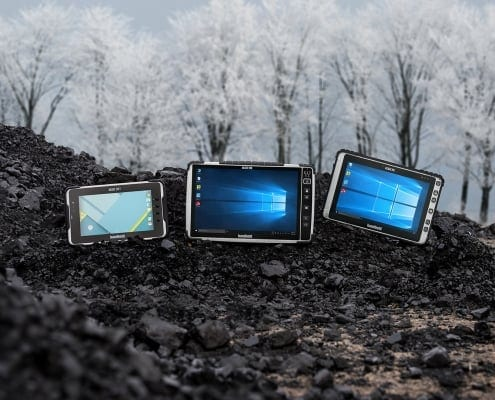handheld rugged tablets outdoor winter
