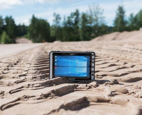 handheld algiz 8x in sand