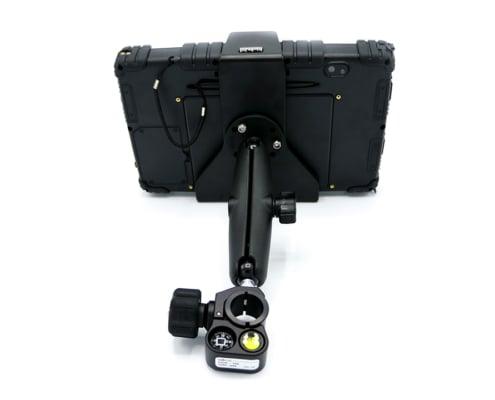 Algiz 10x backside with pole mount