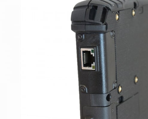 handheld algiz 8x rj45 expansion on device