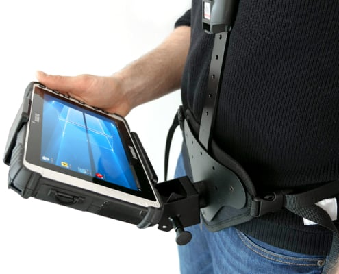 handheld algiz 8x in shoulder carrier