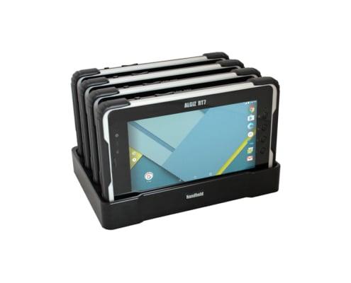 handheld algiz rt7 in quad charger