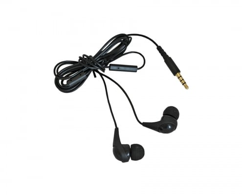 handheld in ear microphone headset