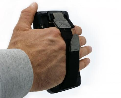 handheld nautiz x2 protective booth with handstrap