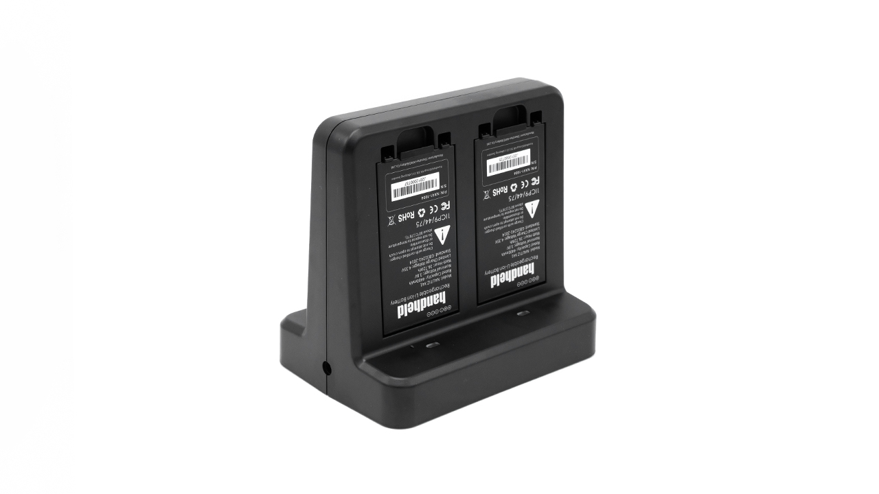 handheld nautiz x41 four-slot battery charger