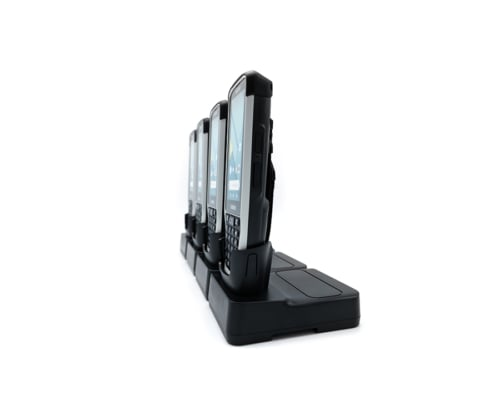 handheld nautiz x41 four slot charging station