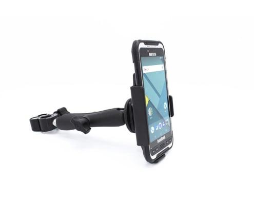 handheld nautiz x6 in pole mount