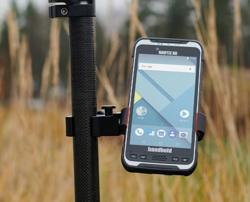 handheld pole mount quick release