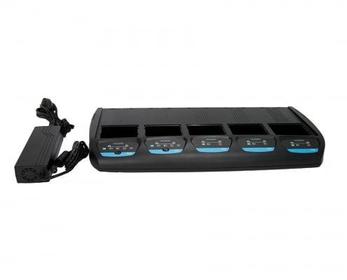handheld sp400x imprinter 5-bay charger