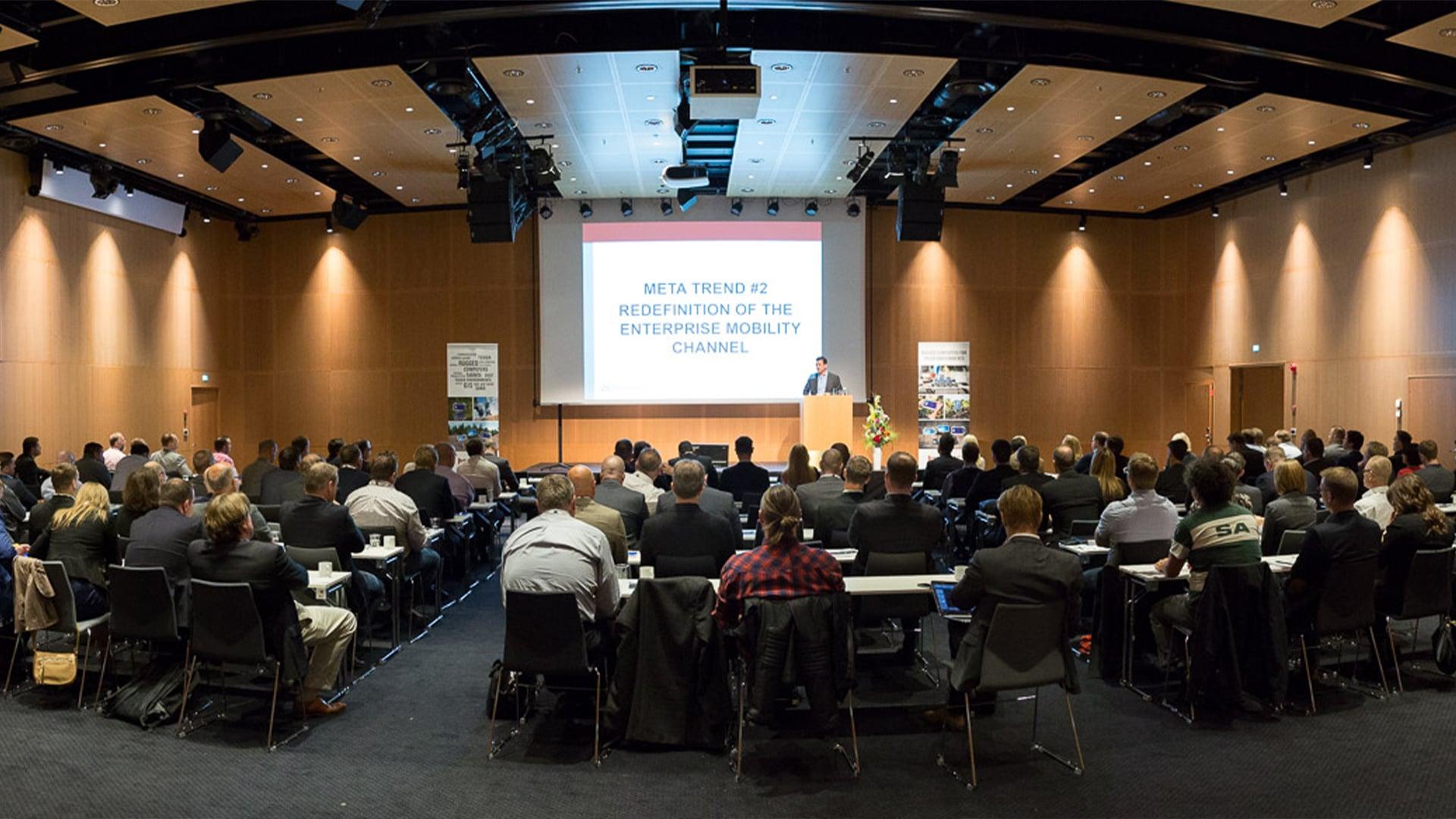 handheld business partner conference keynote