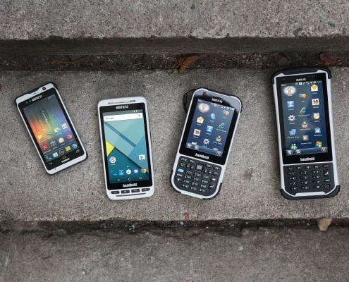 handheld rugged pdas