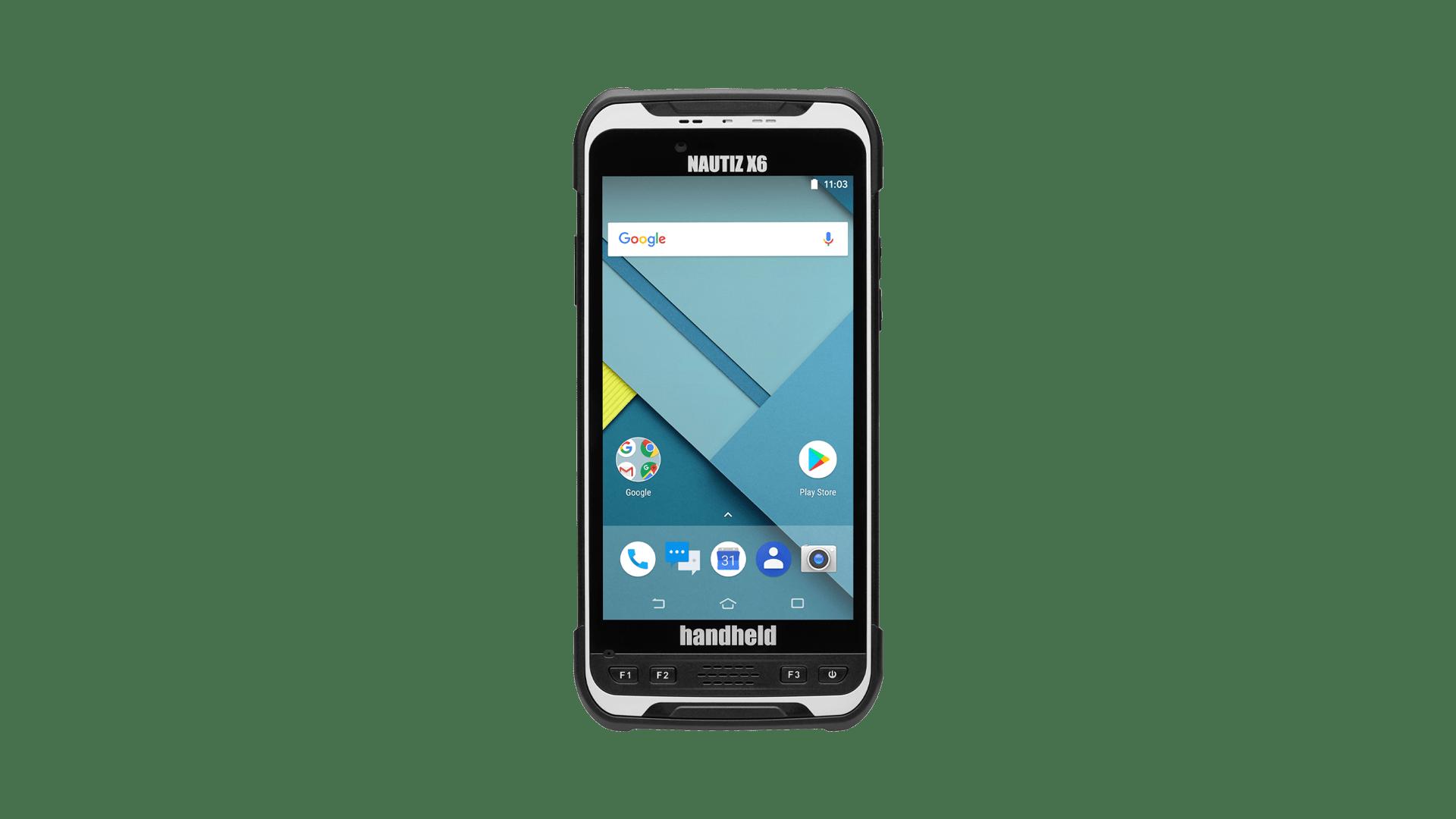 handheld nautiz x6 front
