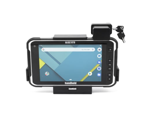 handheld algiz rt8 in vehicle cradle