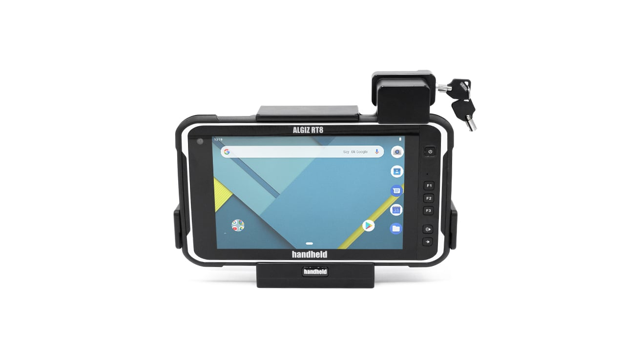 handheld algiz rt8 in vehicle cradle