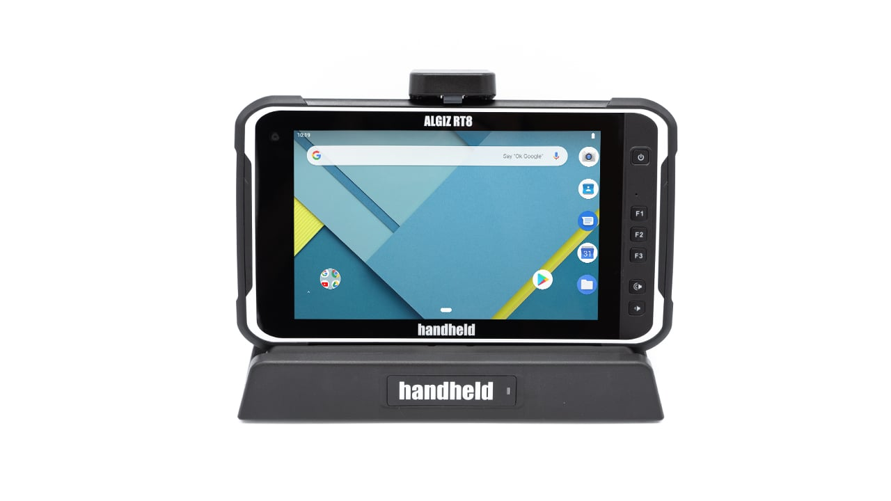 handheld algiz rt8 docking station
