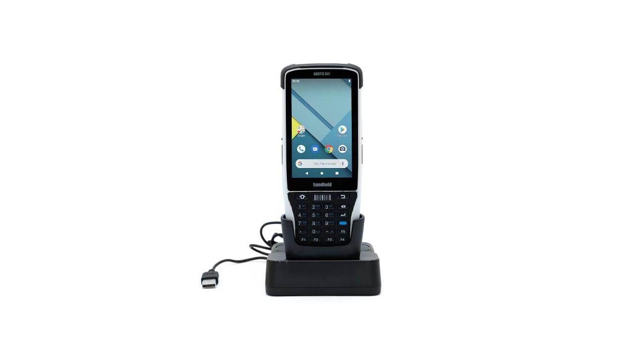 handheld nautiz x41 desktop dock