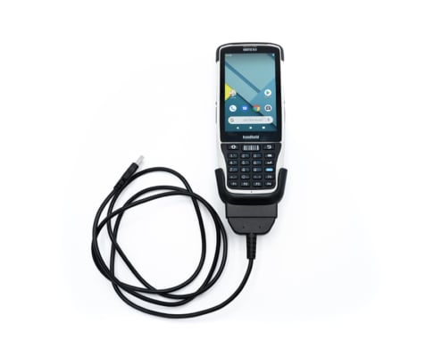 handheld nautiz x41 in docking charger