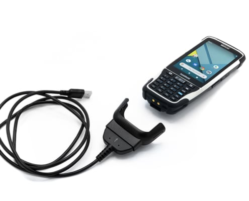 handheld nautiz x41 with docking charger