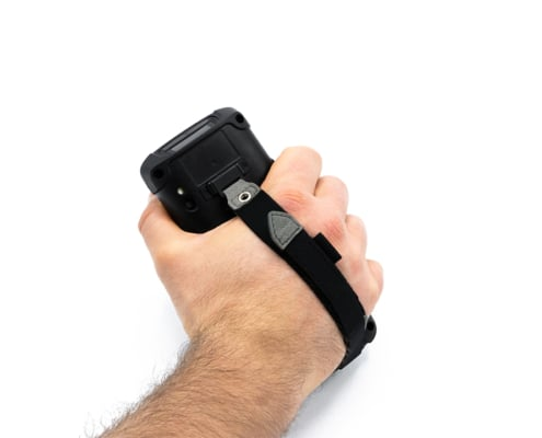 handheld nautiz x41 handstrap back