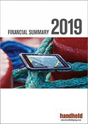 handheld financial summary 2019