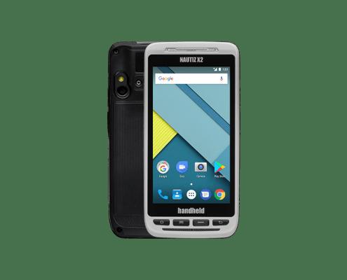 handheld nautiz x2 front and back