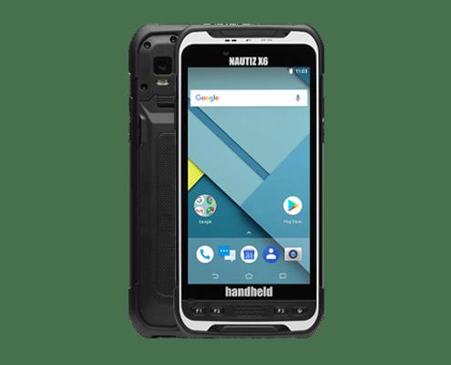 handheld nautiz x6 front and back
