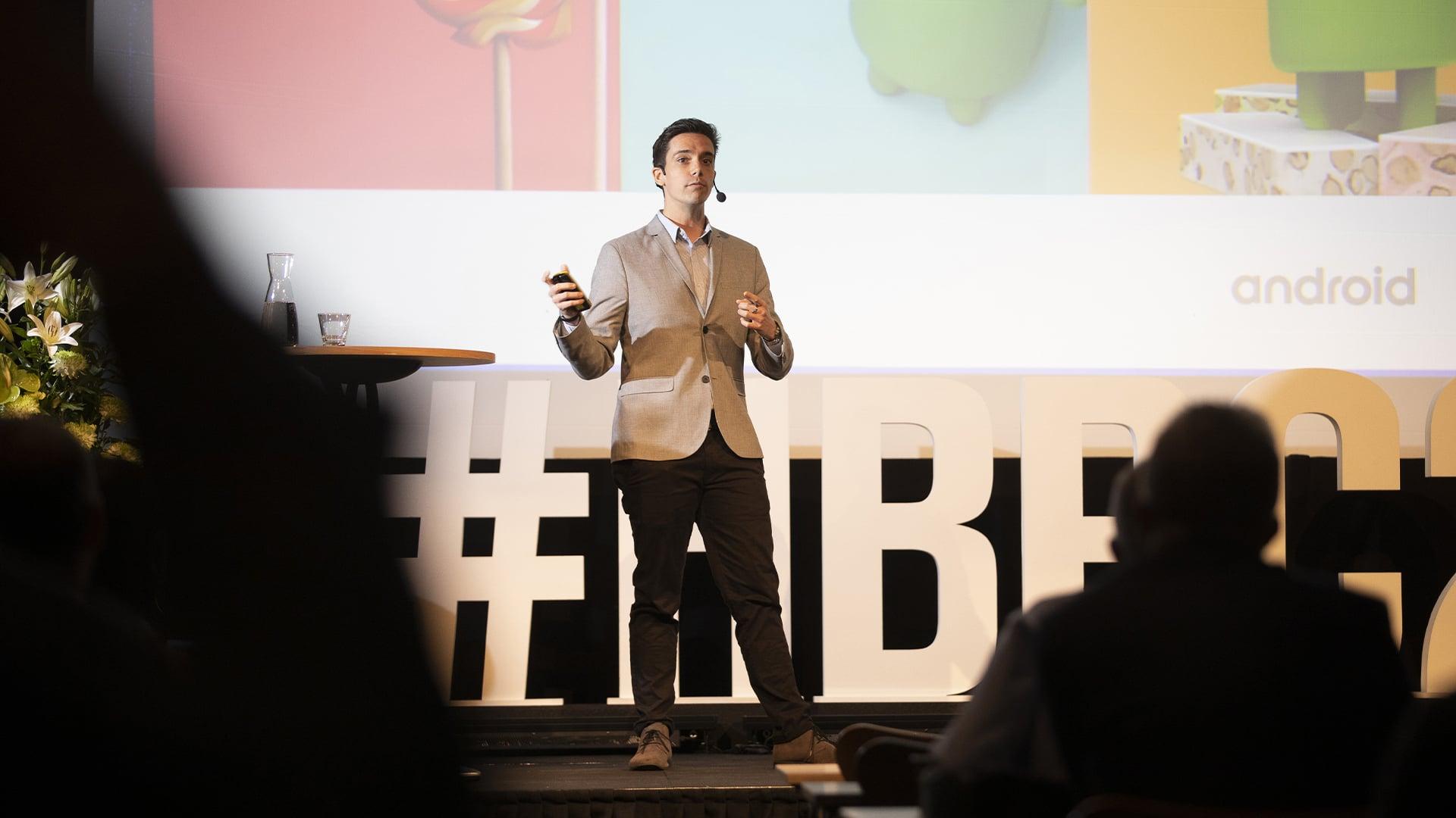 handheld business partner conference speaker