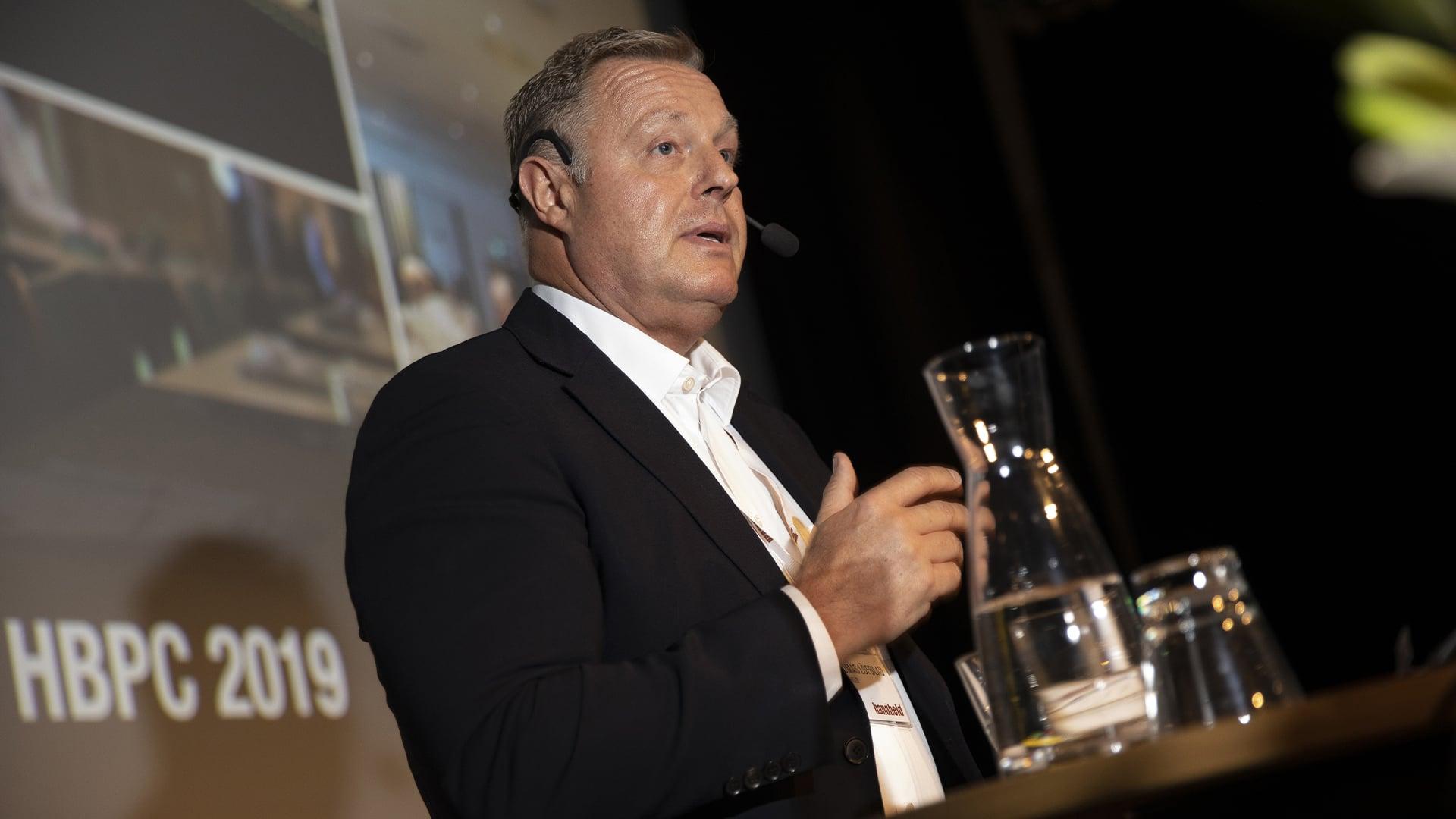 handheld business partner conference thomas löfblad