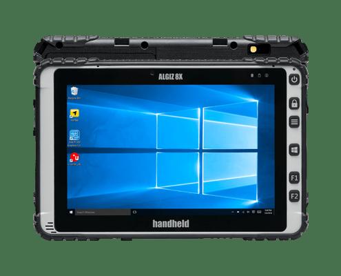 handheld algiz 8x front and back