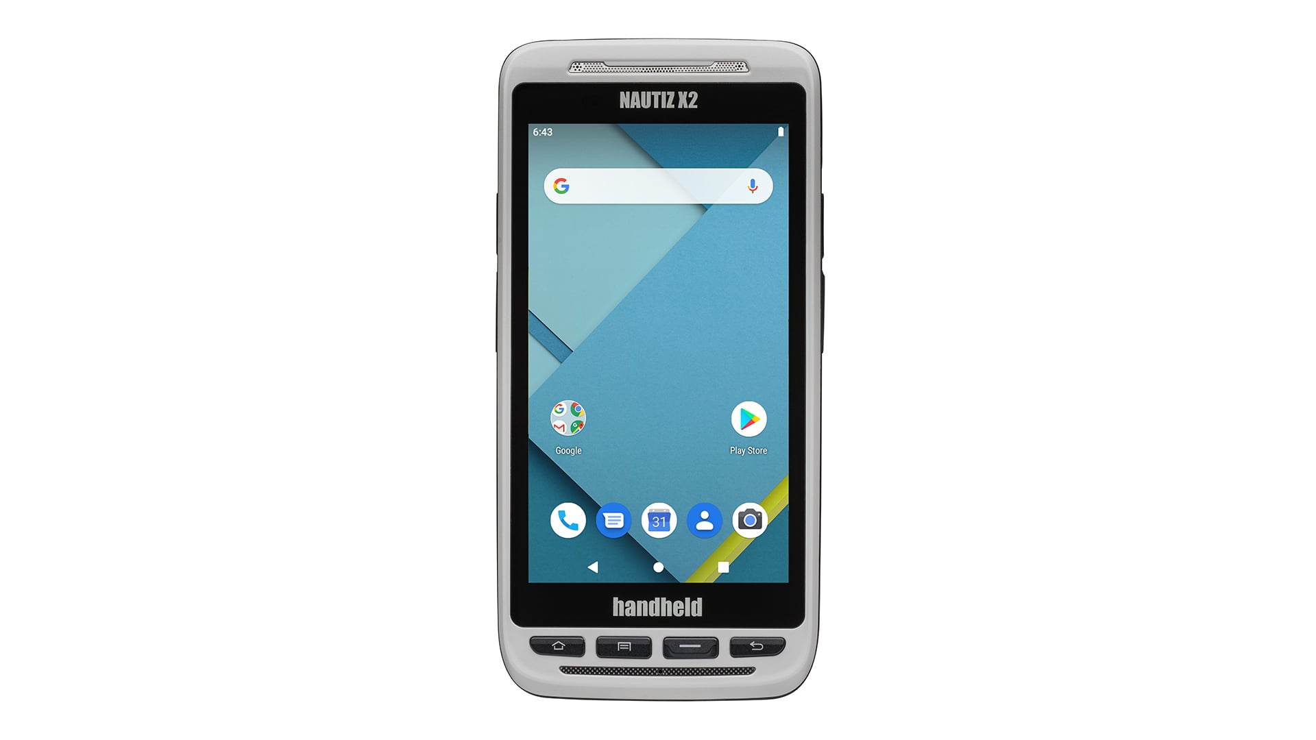 handheld nautiz x2 front