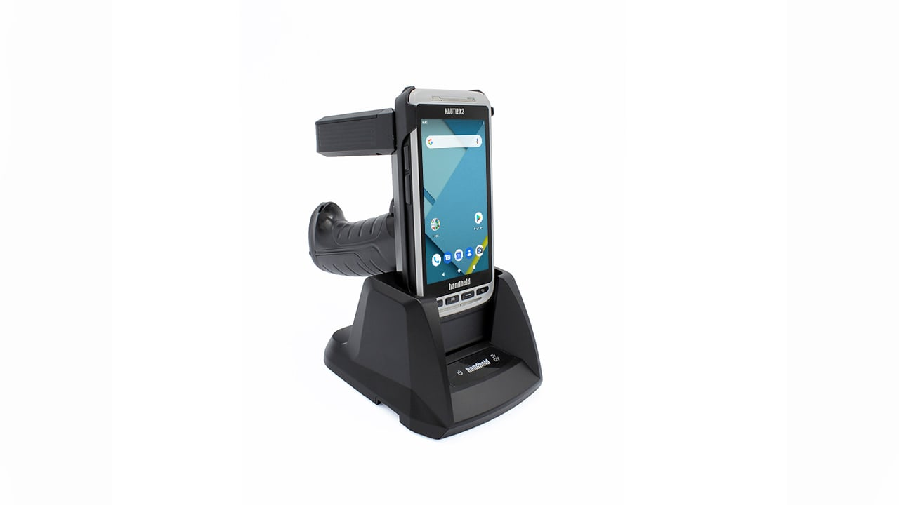 handheld nautiz x2 pistol grip ultra-high frequency module