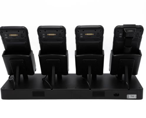 handheld nautiz x6 four-slot charging station