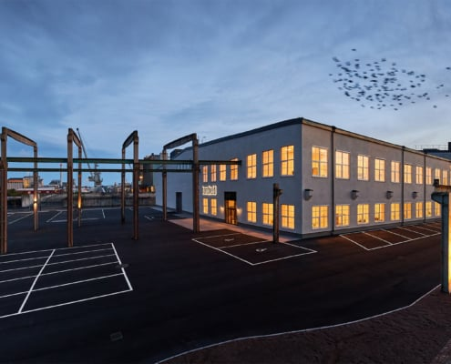 handheld new headquarters