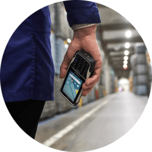 Warehouse scanning system