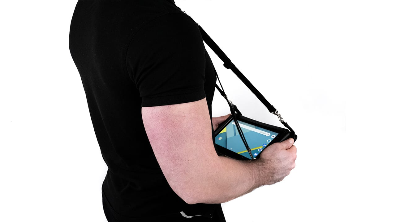 handheld algiz rt8 carry case with neck strap