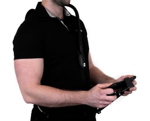 handheld algiz rt8 shoulder carrier