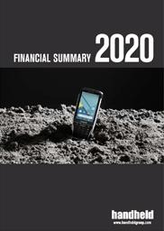 handheld financial summary 2020